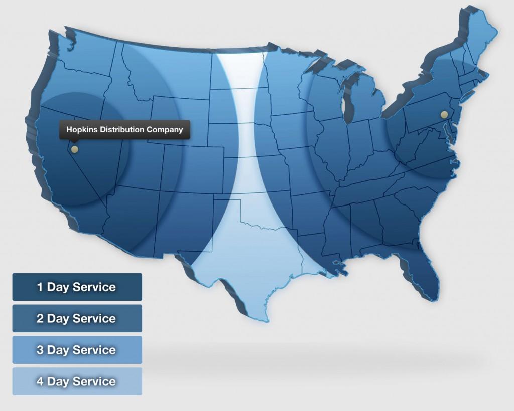 Third Party Logistics (3PL) on the West Coast | Hopkins ...
