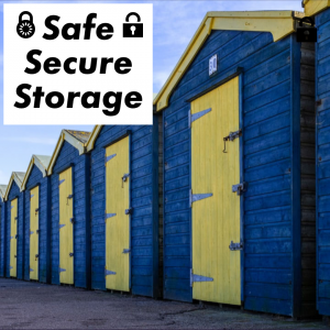 safe and secure storage, warehousing